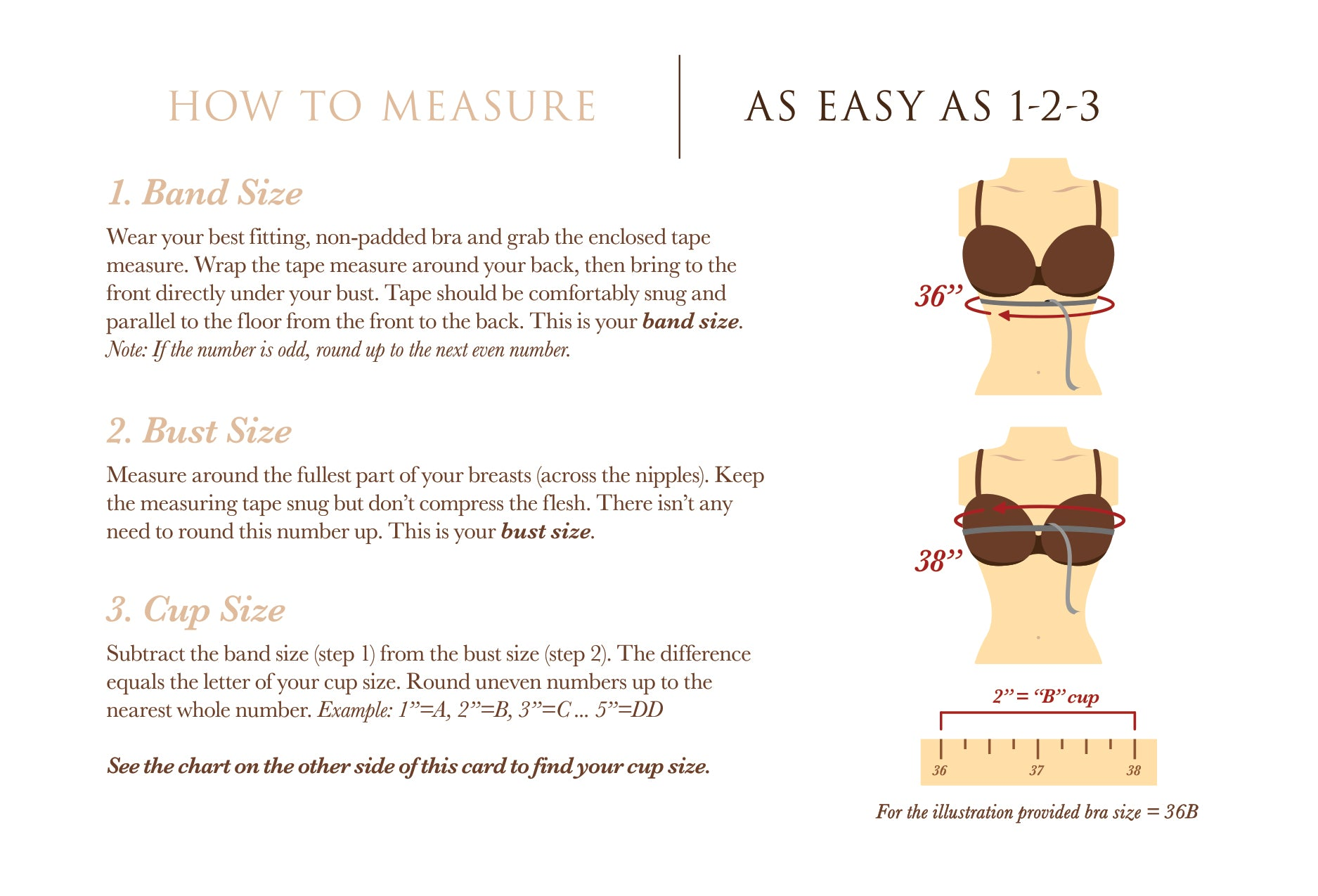How To Measure Guide Easy As 1 2 3 Nudz