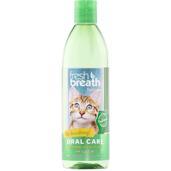 TropiClean Water Additive for Cats 473 ml