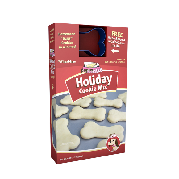 Puppy Cake - Holiday Cookie Mix