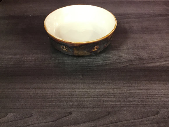 Bowl - Medium Low Dish - Brown