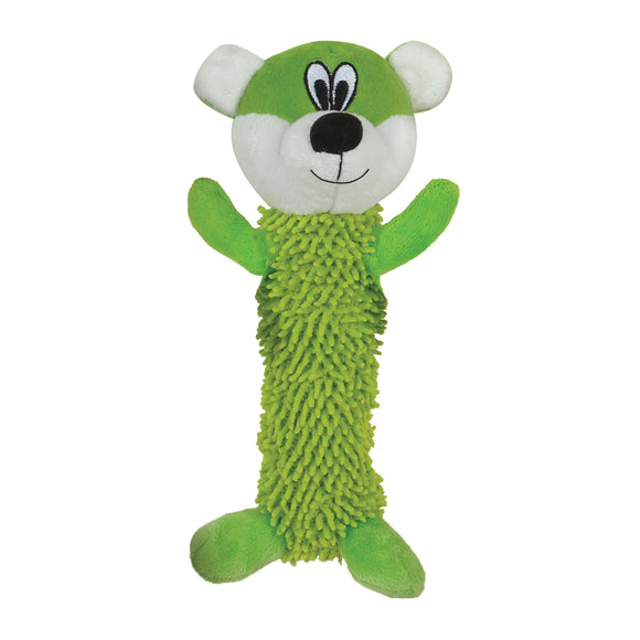 Tender-Tuffs Fetch – Shaggy Green Bear