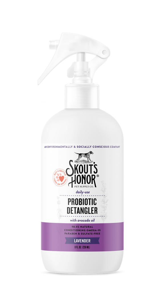 Skout's Honor Probiotic Detangler for Dogs & Cats
