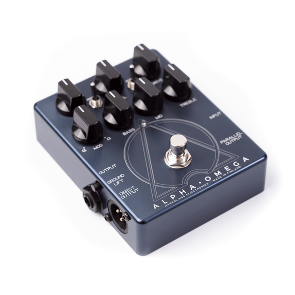 Darkglass Alpha Omega Preamp Overdrive Bass Effect Pedal - Dynamic Pedals