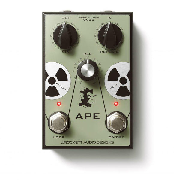 J. Rockett Audio APE Analog Preamp Experiment Vintage Tape Delay
