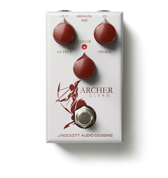 J. Rockett Archer Clean Boost Booster Silver - Dynamic Pedals