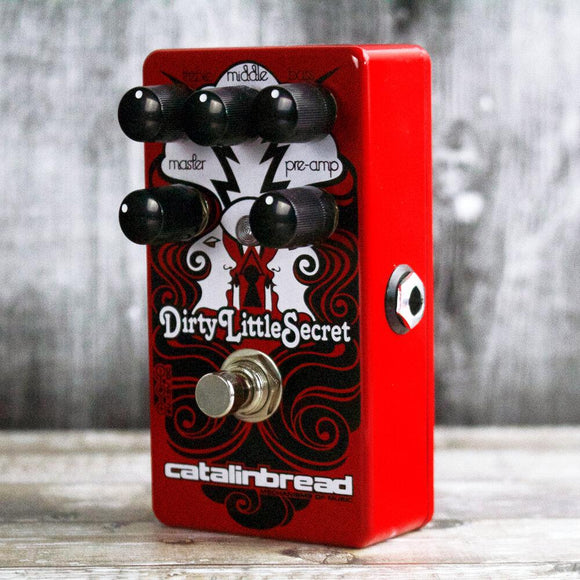 Catalinbread Dirty Little Secret Red Overdrive Distortion - Dynamic Pedals