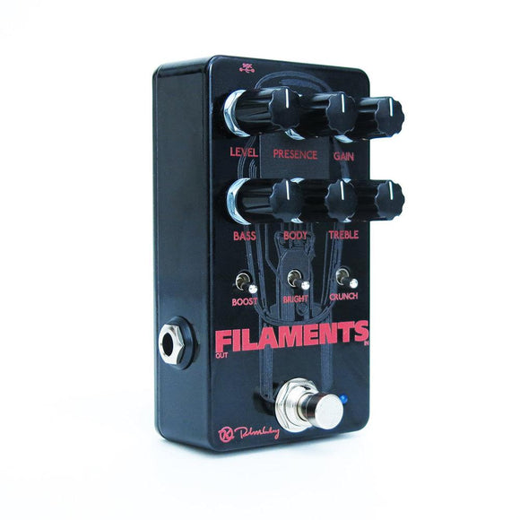 Keeley Filaments High Gain Distortion Tube Effect Guitar Pedal - Dynamic Pedals