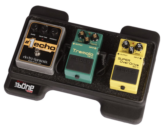 Gator G-MINI-BONE Small Black Pedalboard w/ Carry Bag