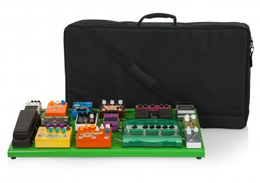 Gator GPB-XBAK-GR Extra Large Green Pedal Board With Case