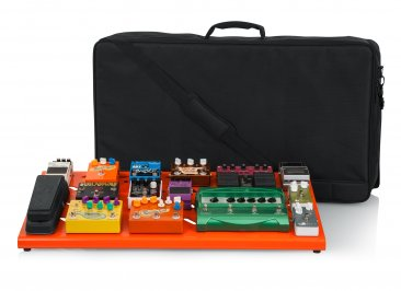 Gator GPB-XBAK-OR Extra Large Orange Pedal Board With Case