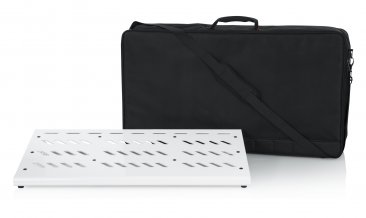 Gator GPB-XBAK-WH Extra Large White Pedal Board With Case
