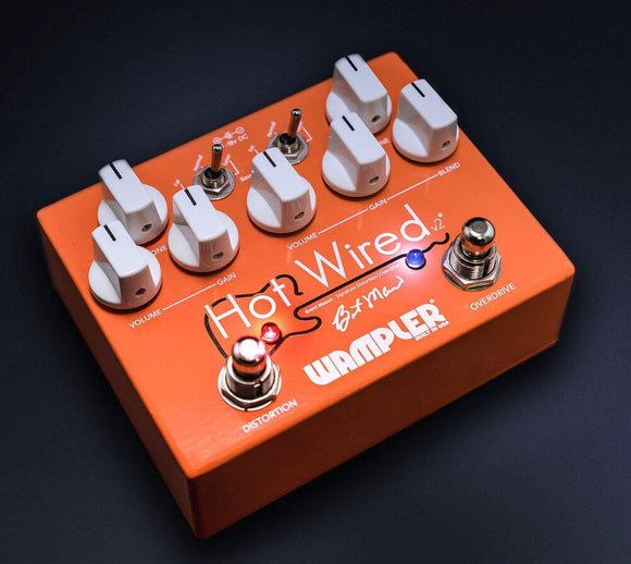 Wampler Hot Wired V2 Overdrive Distortion - Dynamic Pedals