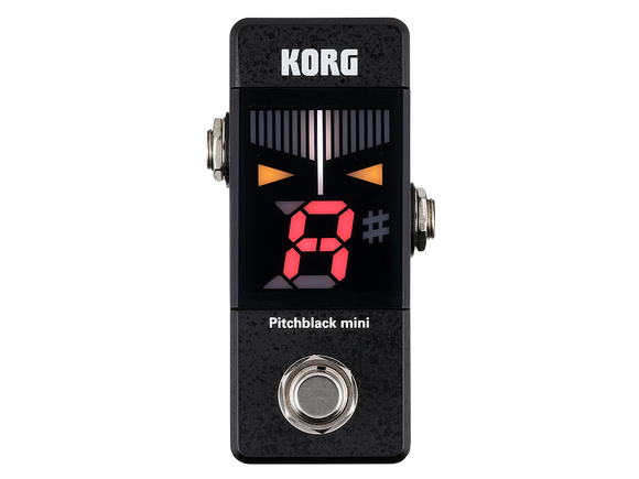 Korg Pitchblack Mini Guitar Pedal Tuner - Dynamic Pedals