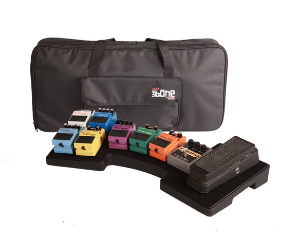Gator Mega Bone Pedal Board And Power Supply With Carry Case - Dynamic Pedals