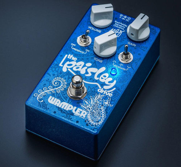 Wampler Paisley Drive V2 Overdrive Distortion - Dynamic Pedals