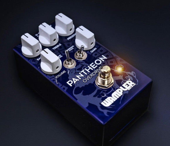 Wampler Pantheon Overdrive British Blues Distortion - Dynamic Pedals