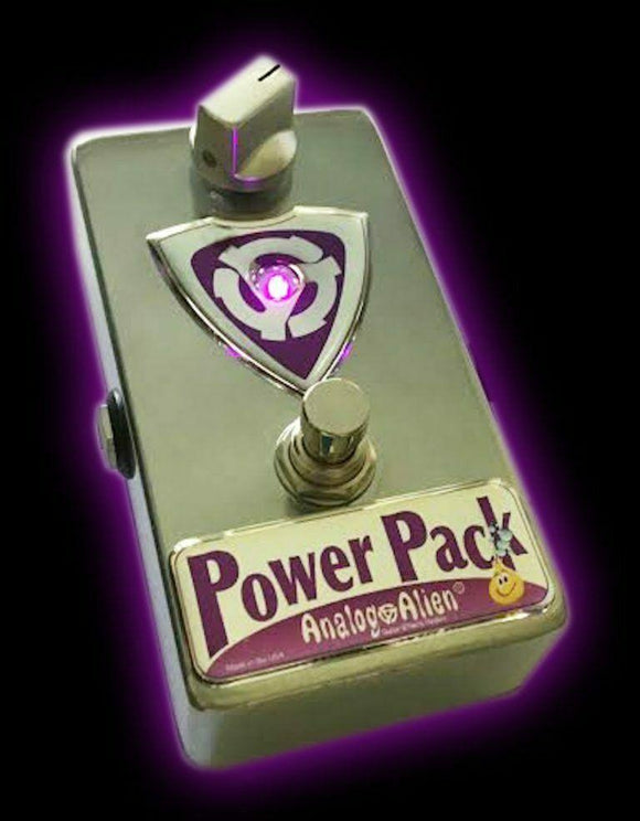 Analog Alien Power Pack Boost Pedal Guitar Effect Effects - Dynamic Pedals