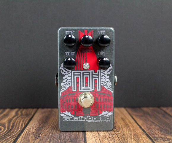 Catalinbread RAH Royal Albert Hall Distortion Overdrive - Dynamic Pedals