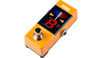Korg Pitchblack Mini Orange Guitar Pedal Tuner - Dynamic Pedals