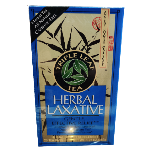 Triple Leaf Tea® Herbal Laxative