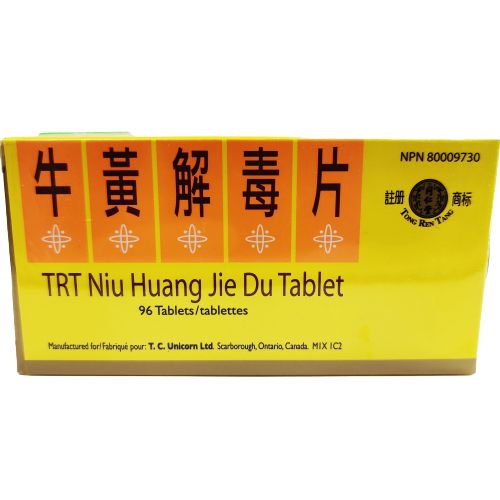 TRT Niu Huang Jie Du Tablet | great-china-herbs-centre |