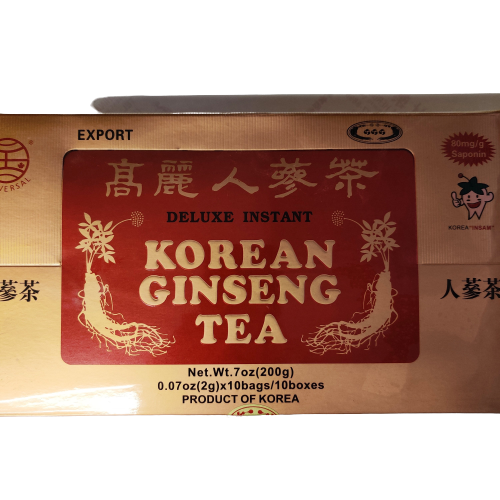 Deluxe Instant Korean Ginseng Tea.
