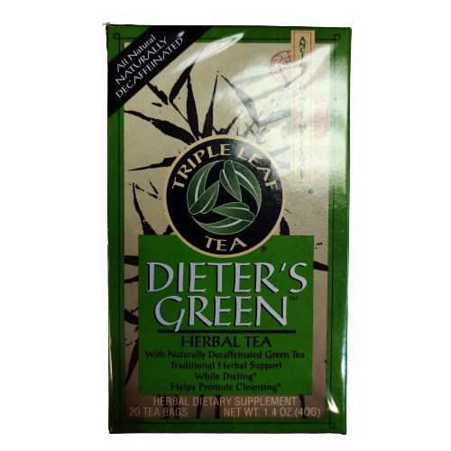Dieter's Green Herbal Tea.