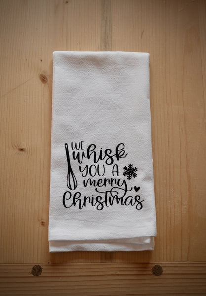 We whisk you a Merry Christmas Towel