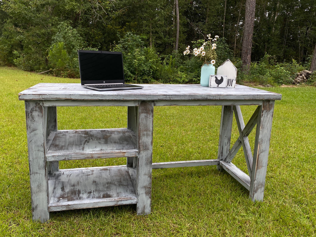 Farmhouse Distressed Desk