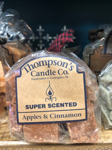 Thompson's wax melts