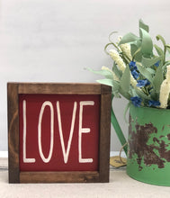 Load image into Gallery viewer, Rustic Valentine's Love Sign