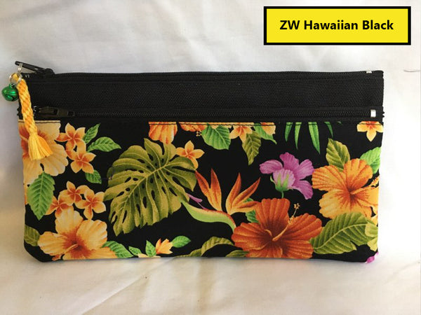 "8"" Zipper Wallet (asst prints)"