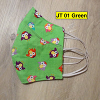Face Mask Adult Assorted Prints (no pocket / earloop)