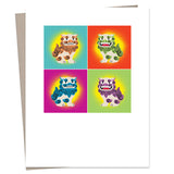 Greeting Cards Color Hi Collection (assorted set of 4)
