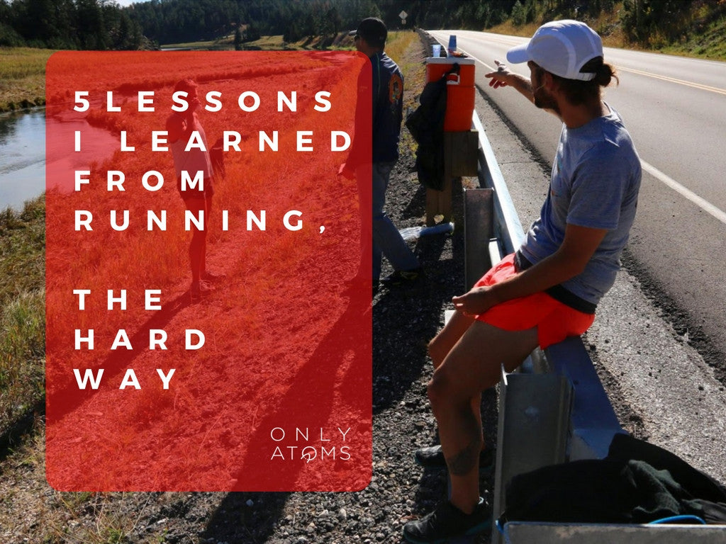 5 lessons I learned from running the hard way