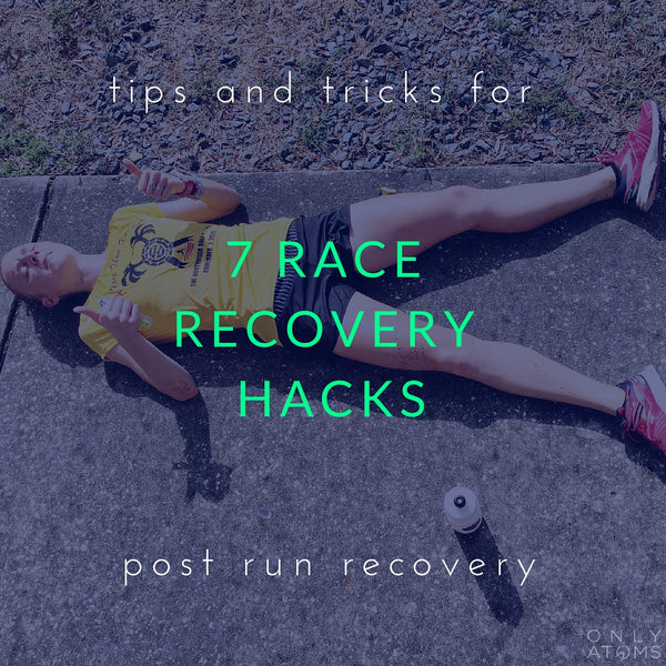 7 Running Race Recovery Hacks
