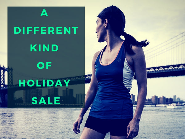 A DIFFERENT Kind of Holiday Sale -- Unique Running Gifts This Season
