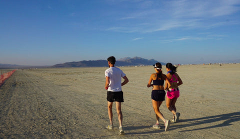 Burning Man Ultramarthon - Beth Weinstein in OnlyAtoms