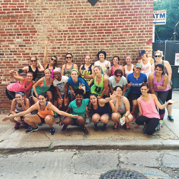 Free running group in Philladelphia, City Fit Girls.