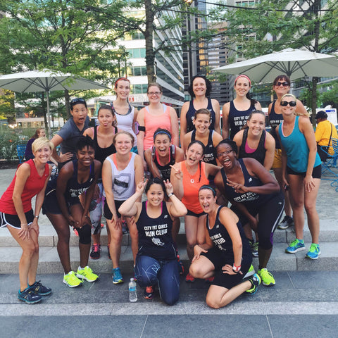 City Fit Girls running group OnlyAtoms
