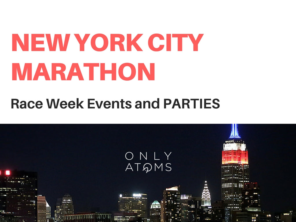 2016 NYC Marathon Events