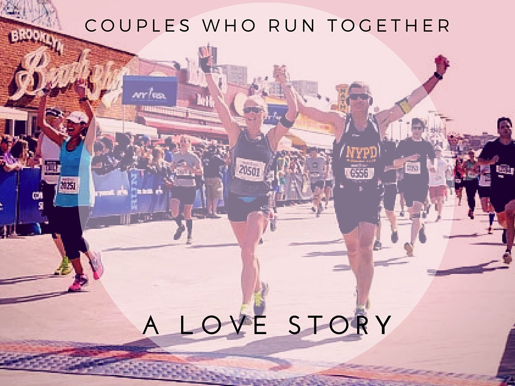 Couples Running Together