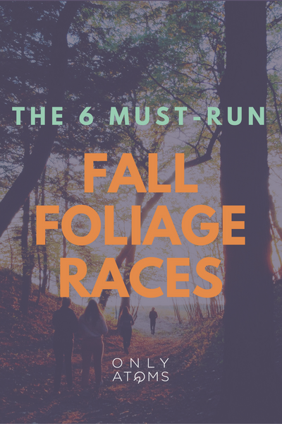 Fall foliage running races