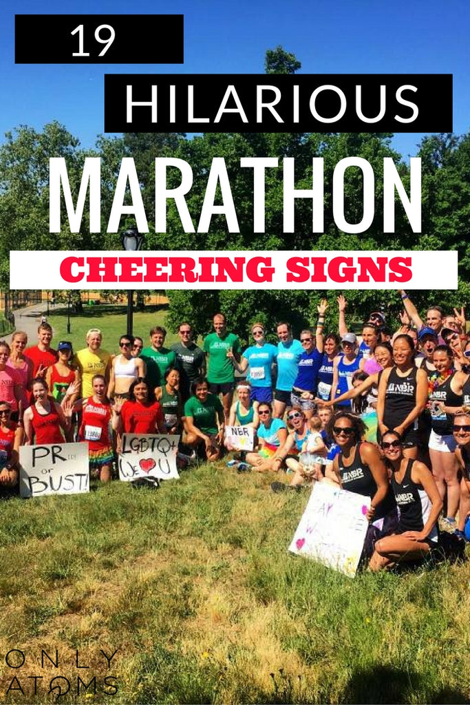 Funny Marathon Cheering Sign Ideas