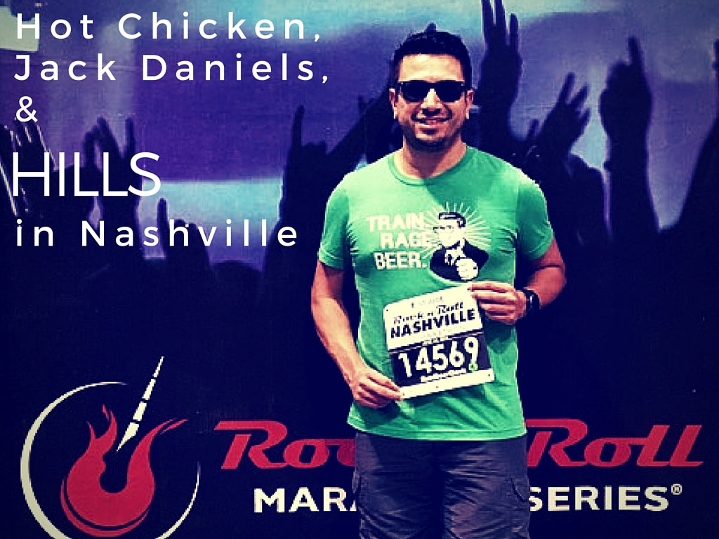 Hot Chicken, Jack Daniels, and Hills - Running in Nashville