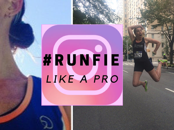 How To Runfie Like a Running Pro