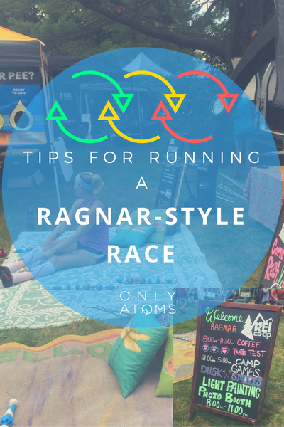 Tips for running a ragnar race