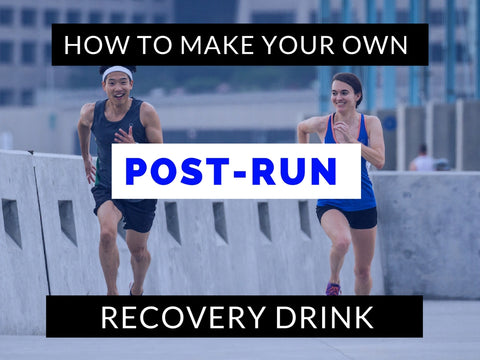 How to make your own running recovery drink