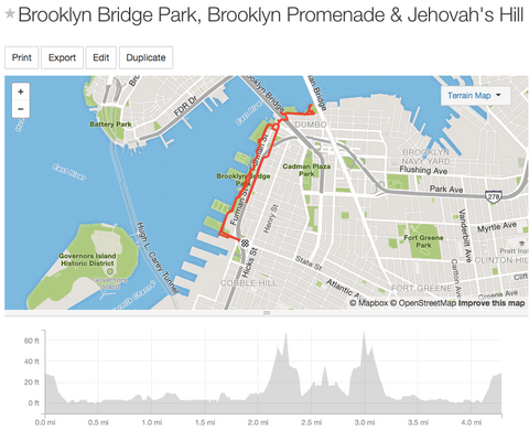 Running in Brooklyn Bridge Park, Brooklyn Promenade & Jehovah's Hill