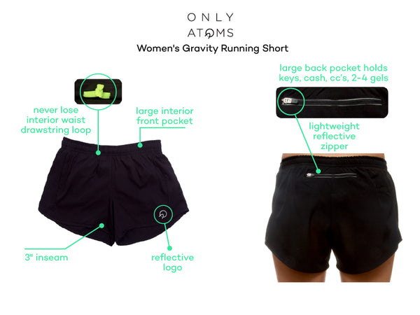 Womens Running Shorts with Pockets